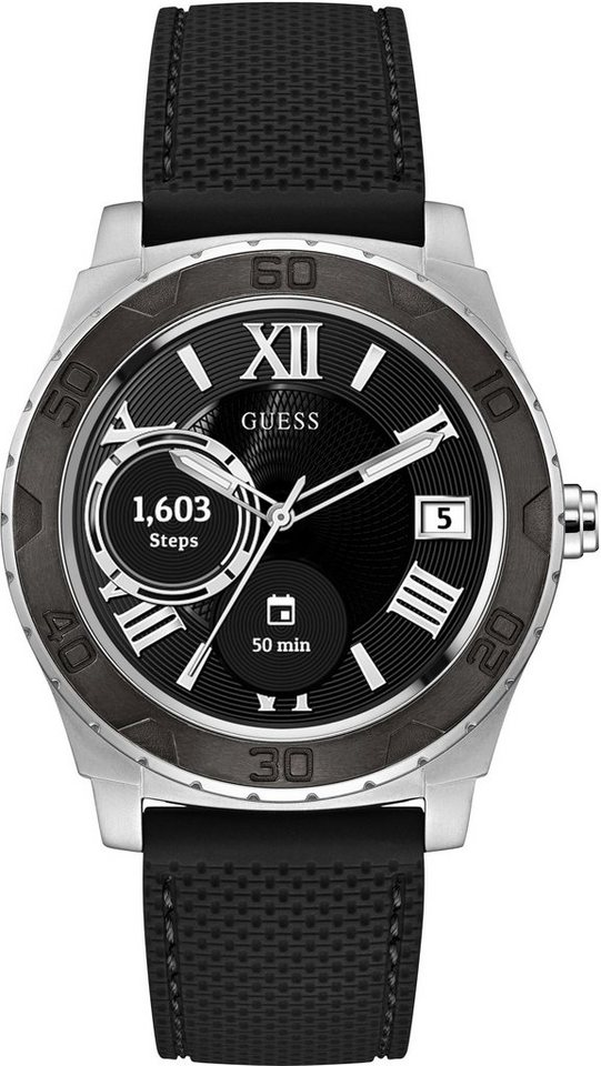 Guess ACE, C1001G1 Smartwatch (Android Wear) | Uhren > Smartwatches | Schwarz | GUESS CONNECT