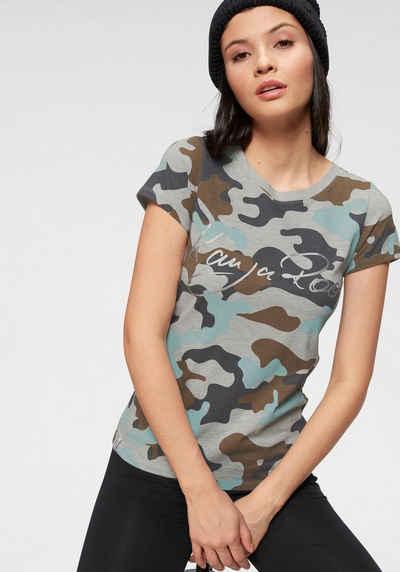 1577948d6065 KangaROOS T-Shirt im Camouflage-Design