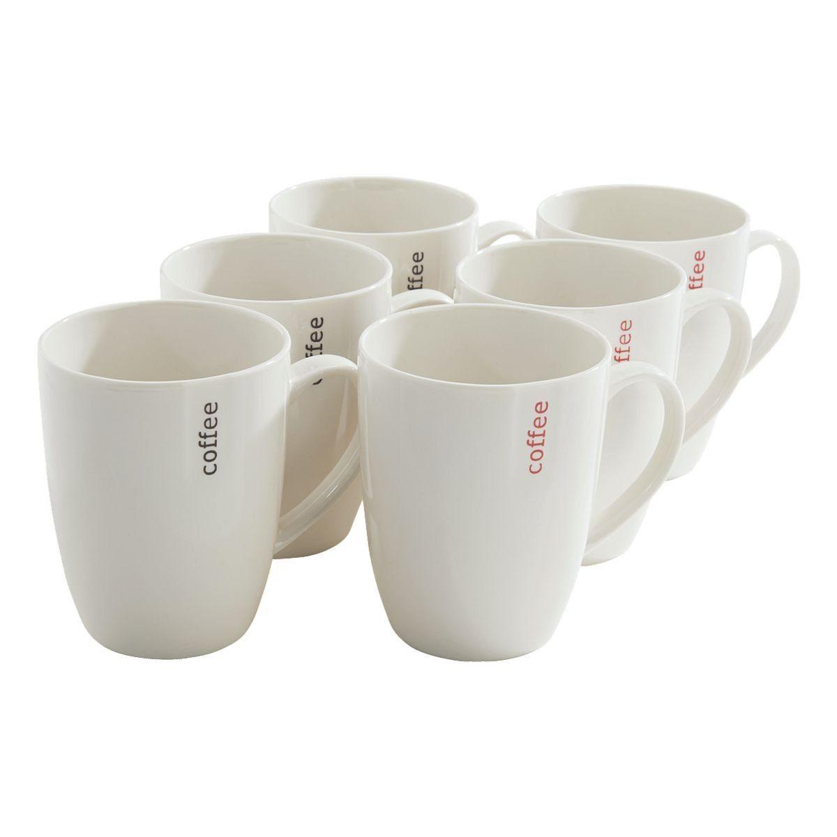 Ritzenhoff & Breker 6er-Pack Kaffeebecher »MIKA-Serie«
