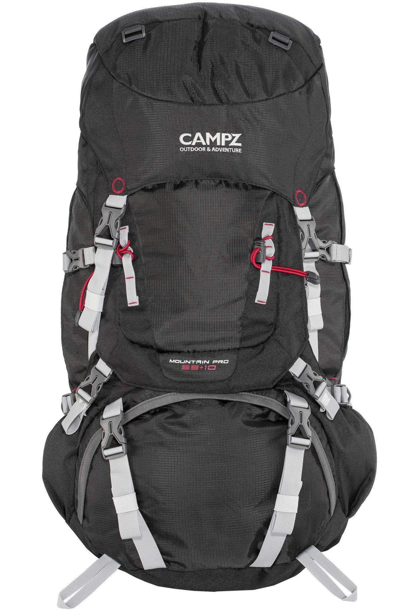 CAMPZ Wanderrucksack »Mountain Pro 55+10L Rucksack«