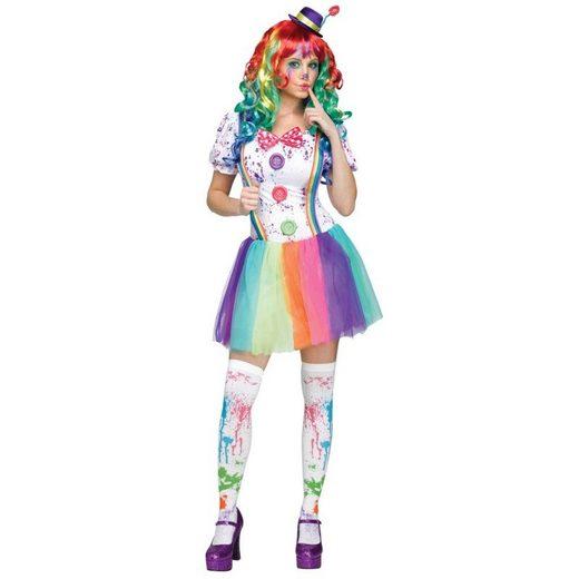 Colorful Clowns Girl Damenkostüm