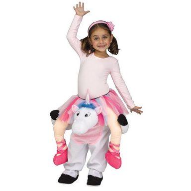 Funny Unicorn Huckepack Kostüm für Kinder