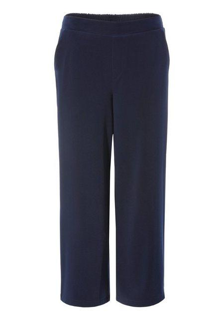 Hosen - Aniston SELECTED Culotte mit Gummizug am hinteren Bund › blau  - Onlineshop OTTO