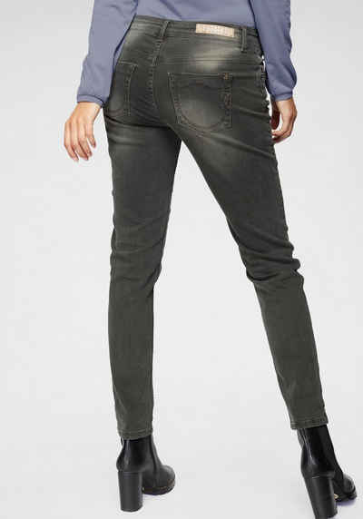 8a674eb1c2bde BLUE FIRE Slim-fit-Jeans »TYRA« mit besonderen Glitzerdetails