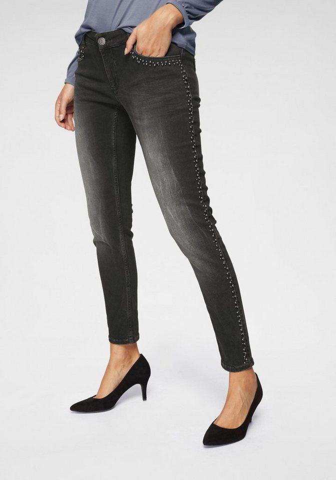 14a741c8eb7b BLUE FIRE Skinny-fit-Jeans »CHLOE« mit trendy Perlen-Details online ...