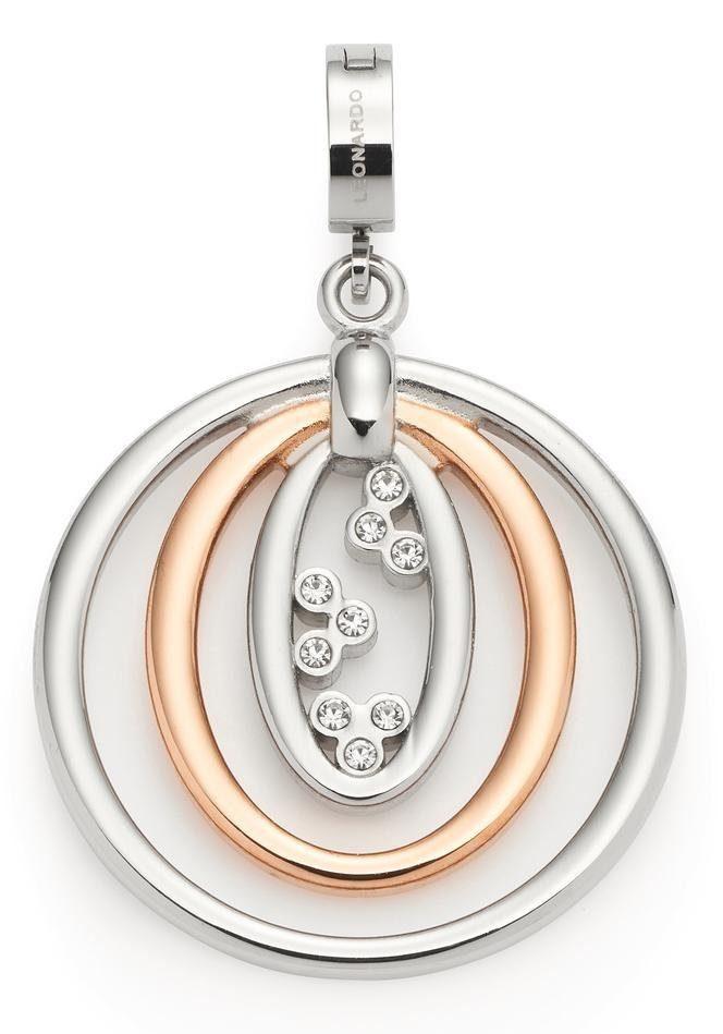 LEONARDO Charm-Einhänger »Adorata Darlin's, 016734« mit Kristallsteinen