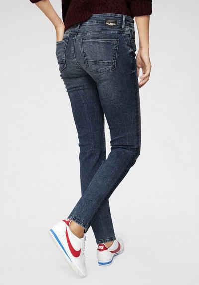 Mavi Regular-fit-Jeans »DARIA« im Used-Look 7de340db90