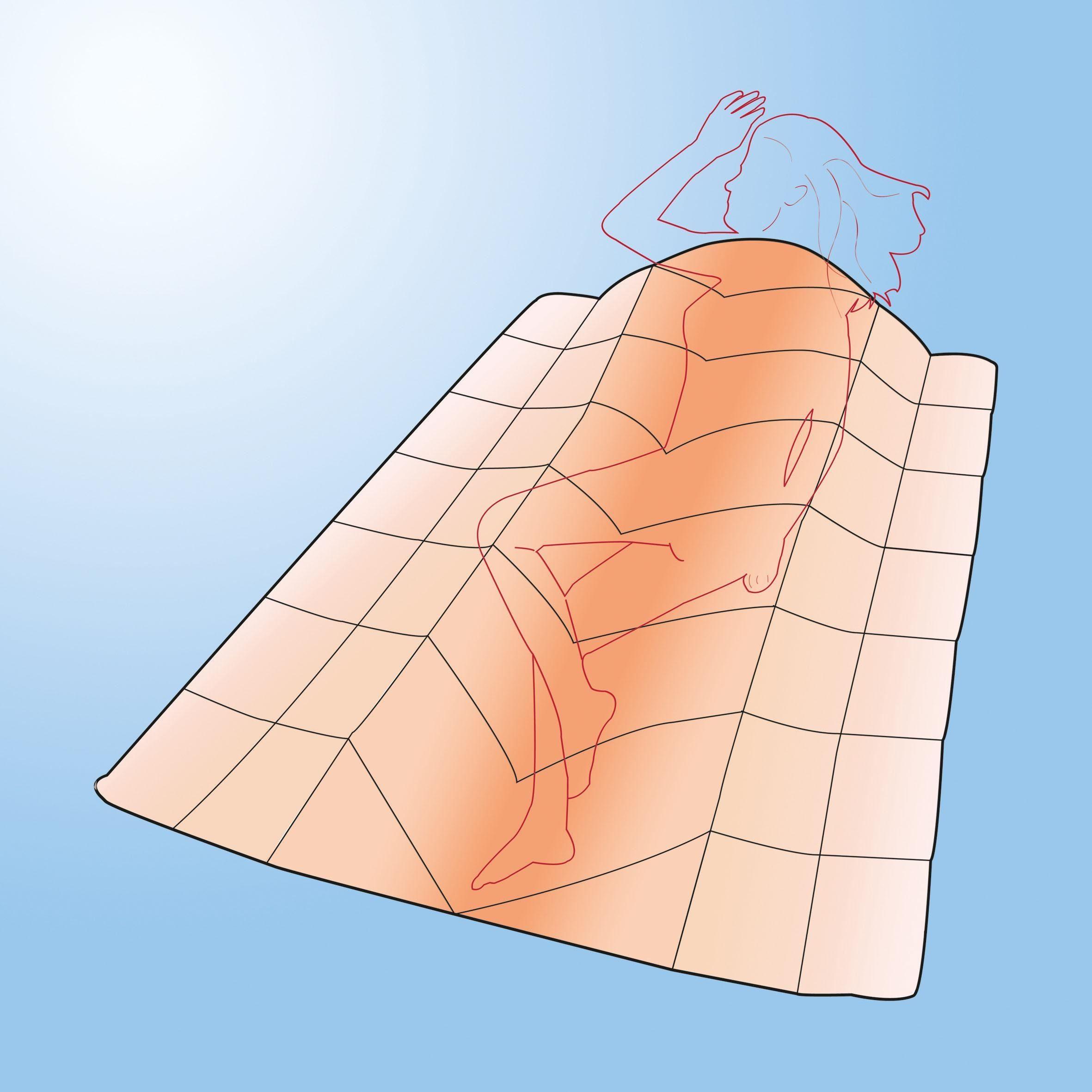 "Microfaserbettdecke, f.a.n. ""Warme Füße"", f.a.n. Frankenstolz, normal, (1-tlg) online kaufen"