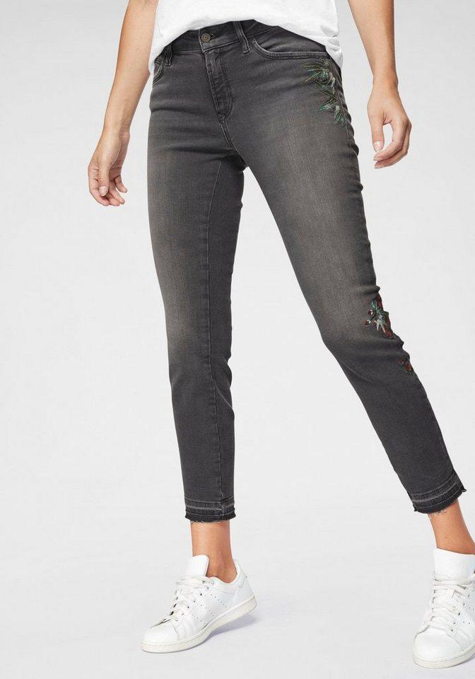 Mavi Skinny-fit-Jeans »SERENA ANKLE« mit floralen Stickereien online ... 5bd4036877