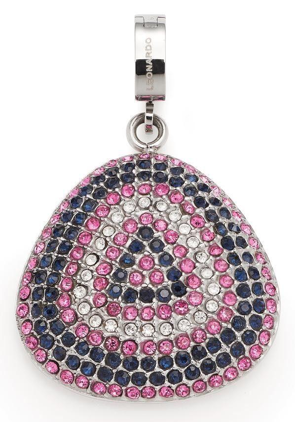 LEONARDO Charm-Einhänger »Scherzo Darlin's, 016721« mit Kristallsteinen