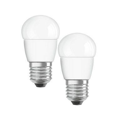 Osram Set: 2 x LED Star Classic LED-Lampe »ST CLAS P 40 FR 5.7 W/827 E27«