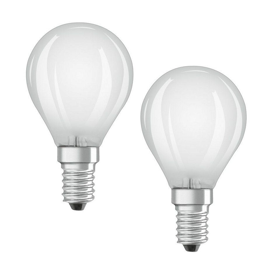 osram set 2 x led retrofit classic led lampe rf clas p 40 4 5 w 827 e14 online kaufen otto. Black Bedroom Furniture Sets. Home Design Ideas