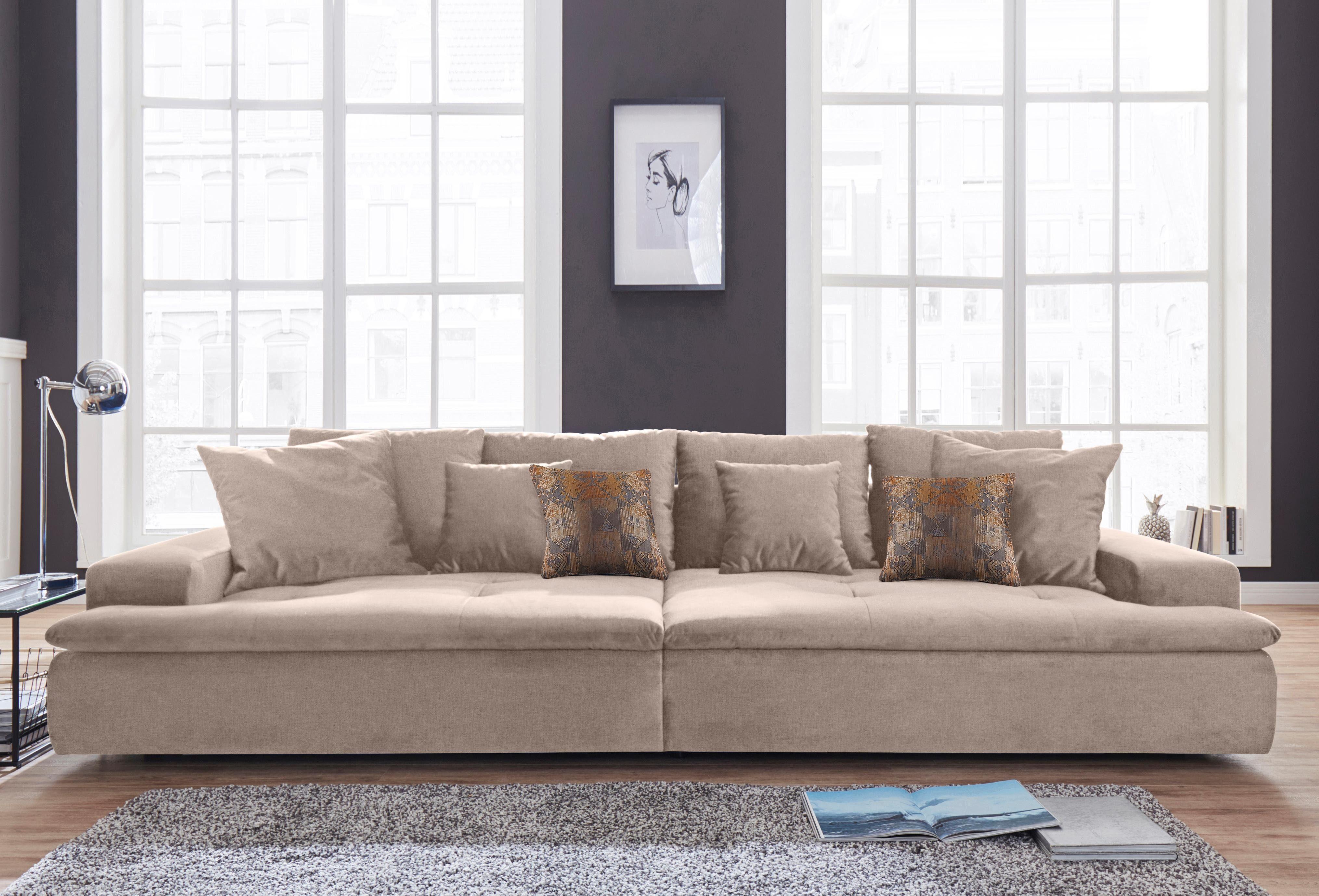 Nova Via Big-Sofa, wahlweise mit RGB-LED