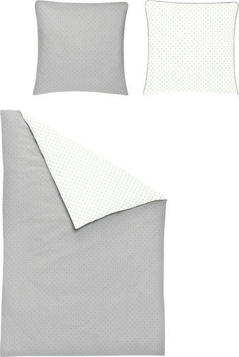 Wendebettwäsche »Varia 8730«, Irisette, in feinem Punktedesign