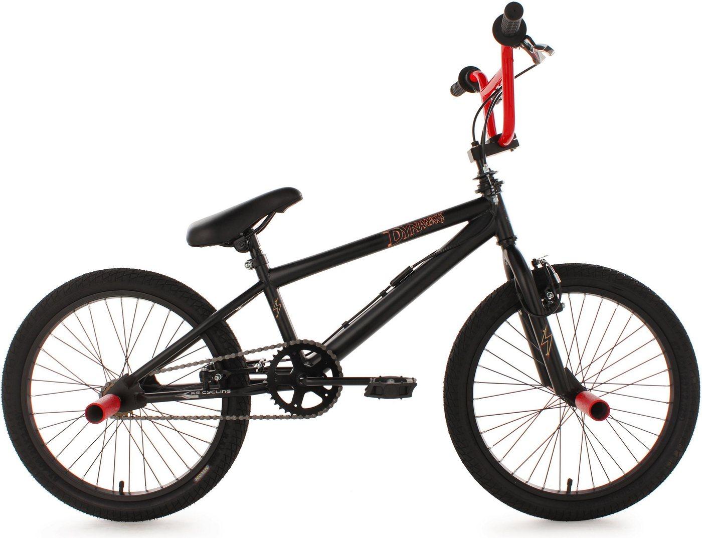 Image of BMX-Fahrrad Dynamixxx 20 Zoll, rot schwarz