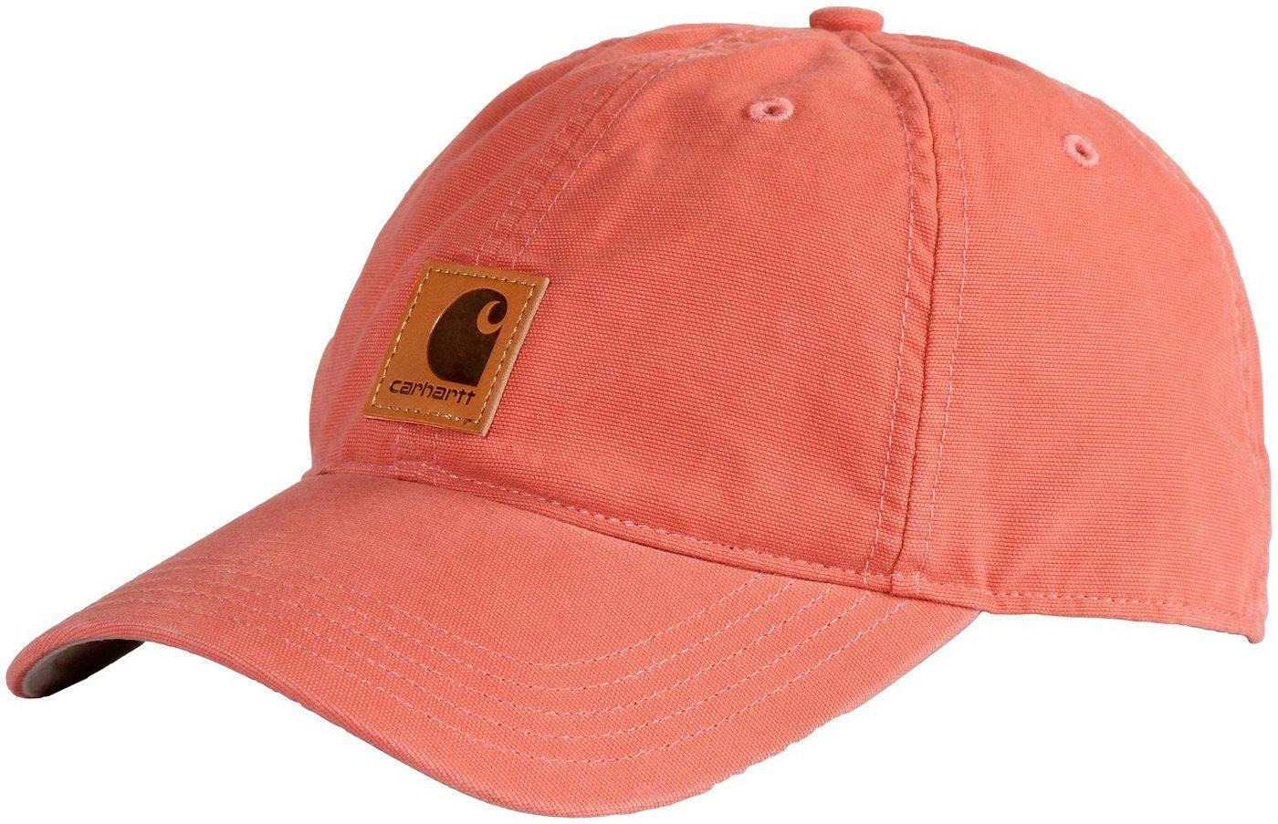 CARHARTT Kappe »Odessa Cap« | Accessoires > Caps | Rot | Baumwolle | Carhartt
