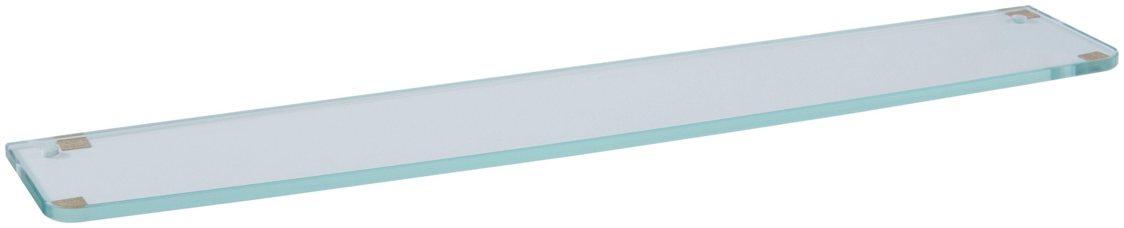KEUCO Ablageplatte »Elegance«, Kristallglas, 700 x 131 x 10 mm