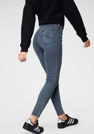 Lee® Skinny-fit-Jeans »Scarlett High« mit Zipper am Saum
