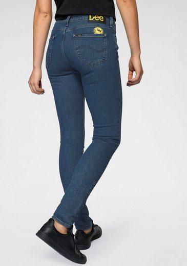 Lee® Skinny-fit-Jeans »Scarlett« mit trendy Smiley-Logo