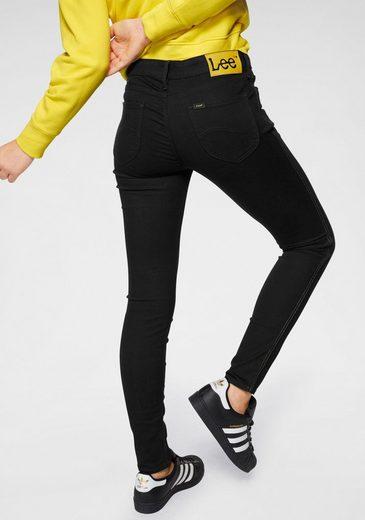 Lee® Skinny-fit-Jeans »Scarlett Smiley« mit gelben Smiley-Details