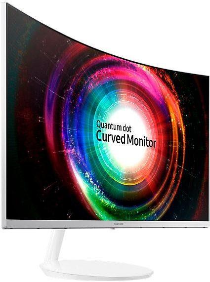 Samsung C32H711 LED Curved-LED-Monitor (2560 x 1440 Pixel, WQHD, 4 ms Reaktionszeit, 60 Hz)