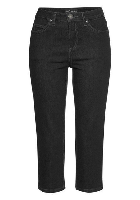 Arizona Caprijeans »Comfort-Fit« | Bekleidung > Jeans > Caprijeans | Arizona