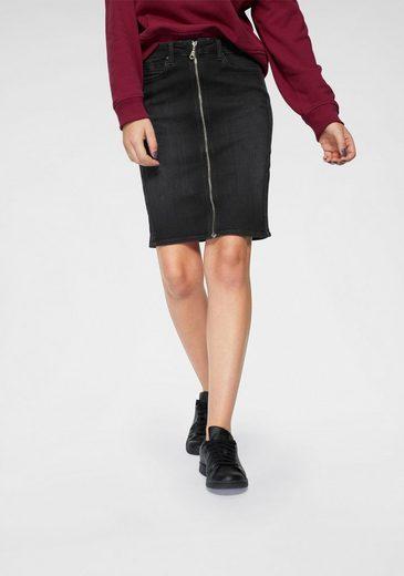 Lee® Jeansrock Pencil-Skirt mit Zipper