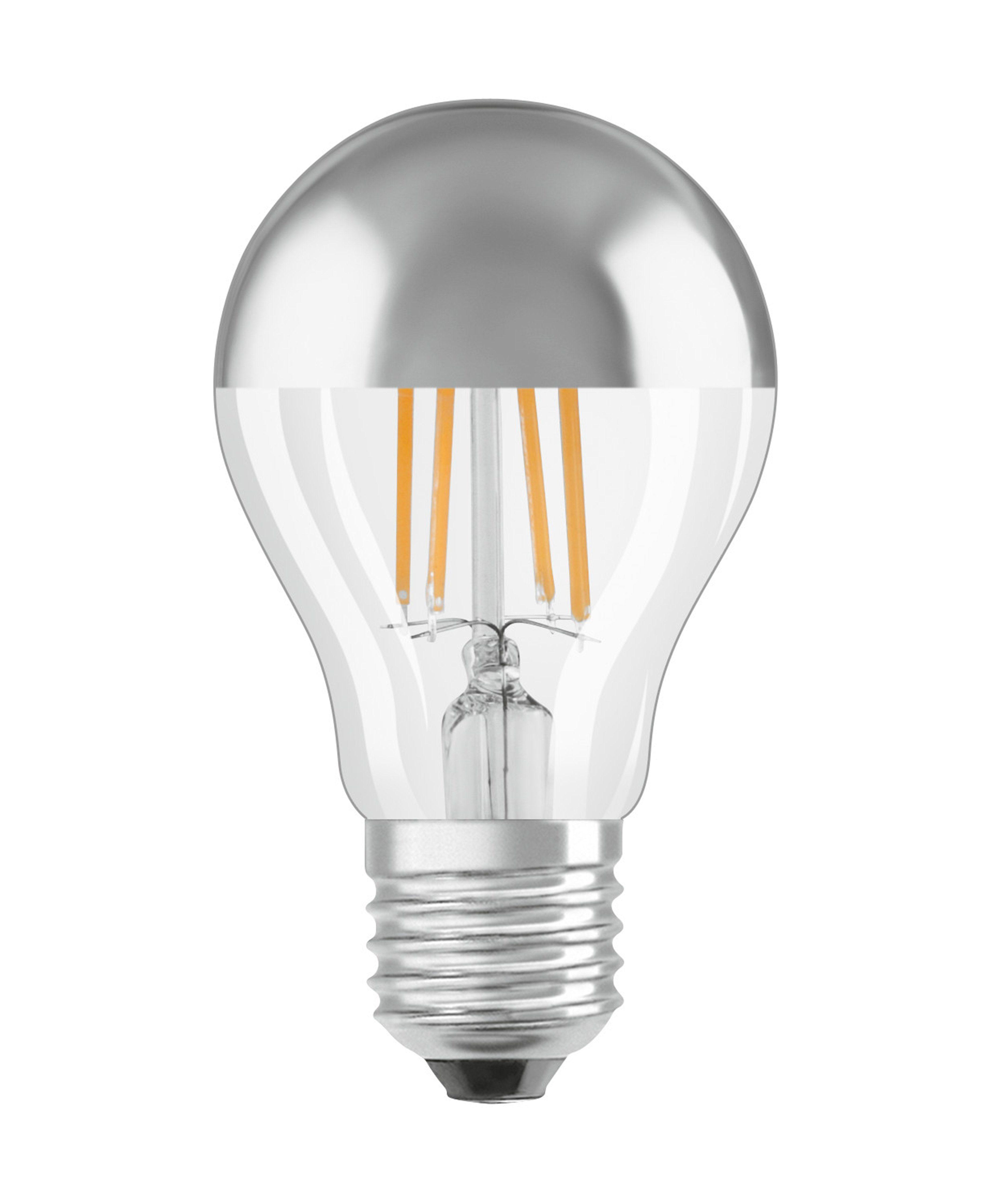 Osram ST CLAS A 34 4 W/827 E27 »LED STAR CL A FIL Mirror Silver 34 non-dim«