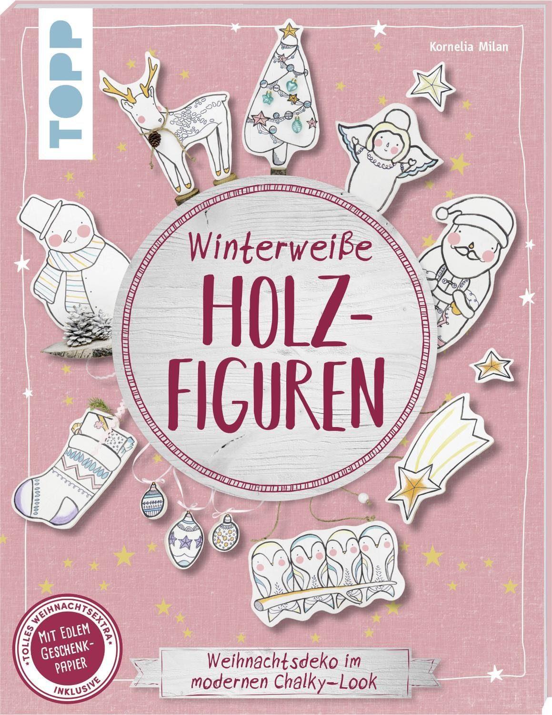 """Topp Buch """"Winterweiße Holzfiguren"""" 48 Seiten"""