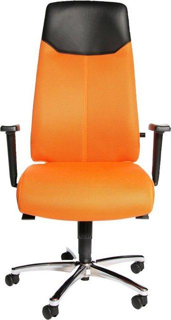 Bürostühle - TOPSTAR Chefsessel »High Sit up« » orange  - Onlineshop OTTO