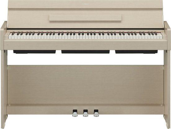 Yamaha Digitalpiano »YDPS34WA«, mit mattschwarzen Tasten