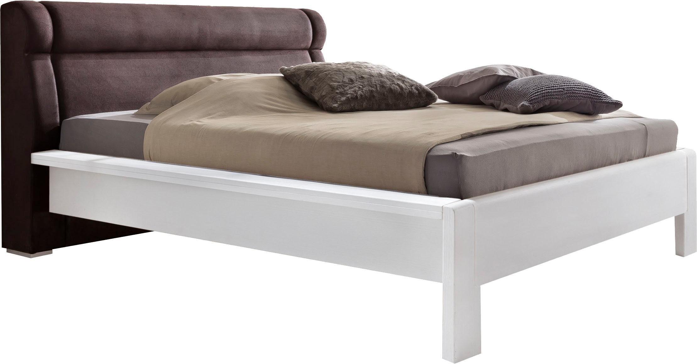 Premium Collection by Home affaire Bett 160x200 Bett »Mistral« mit gepolsterten Kopfteil