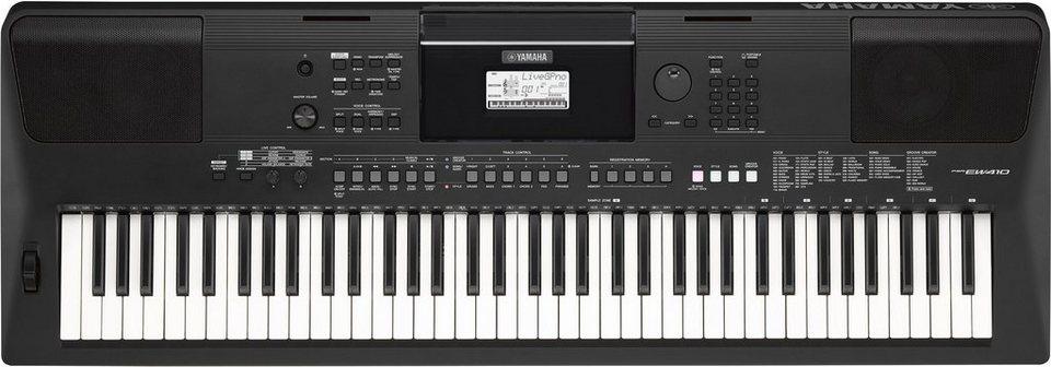 yamaha digital keyboard psr ew410 online kaufen otto. Black Bedroom Furniture Sets. Home Design Ideas