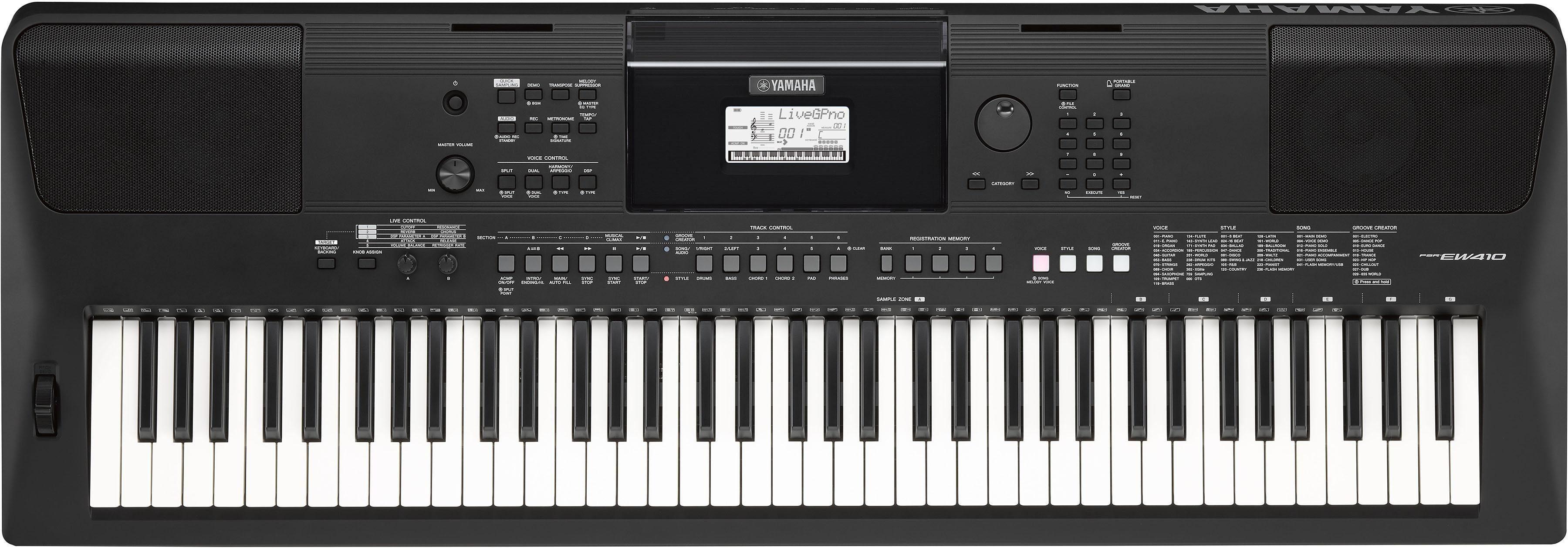 Yamaha Digital Keyboard, »PSR-EW410«