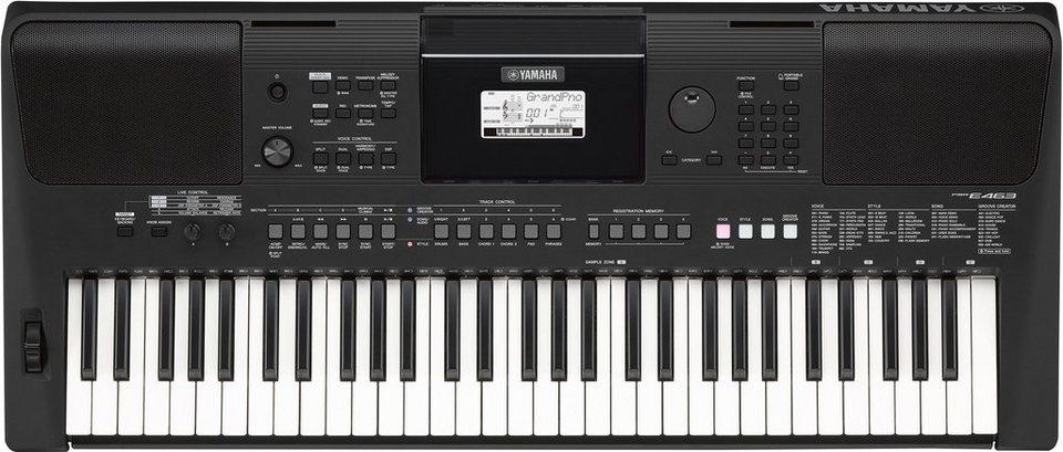 yamaha digital keyboard psr e463 online kaufen otto. Black Bedroom Furniture Sets. Home Design Ideas