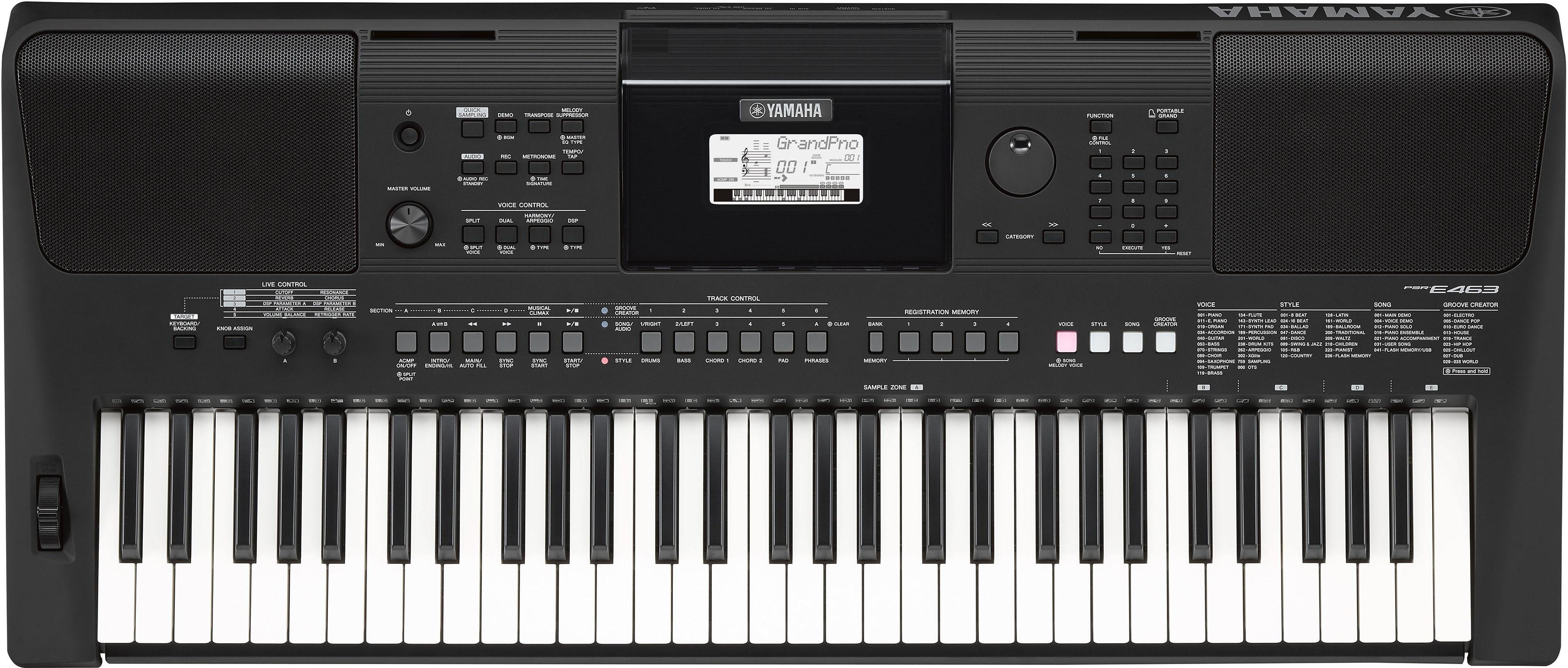 Yamaha Digital Keyboard, »PSR-E463«