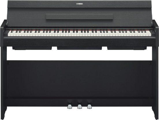 Yamaha Digitalpiano »YDPS34B«, mit mattschwarzen Tasten