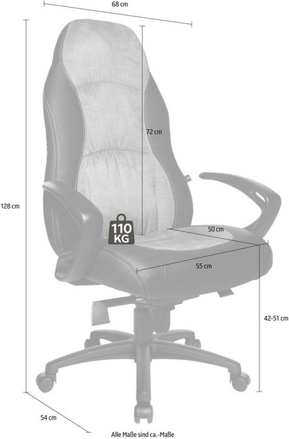 Bürostühle - TOPSTAR Chefsessel »Speed Chair« » schwarz  - Onlineshop OTTO