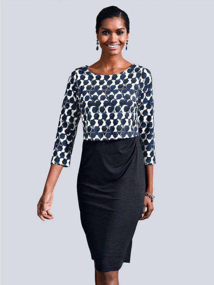 Alba Moda Kleid mit grafischem Punkte-Druck kaufen | OTTO