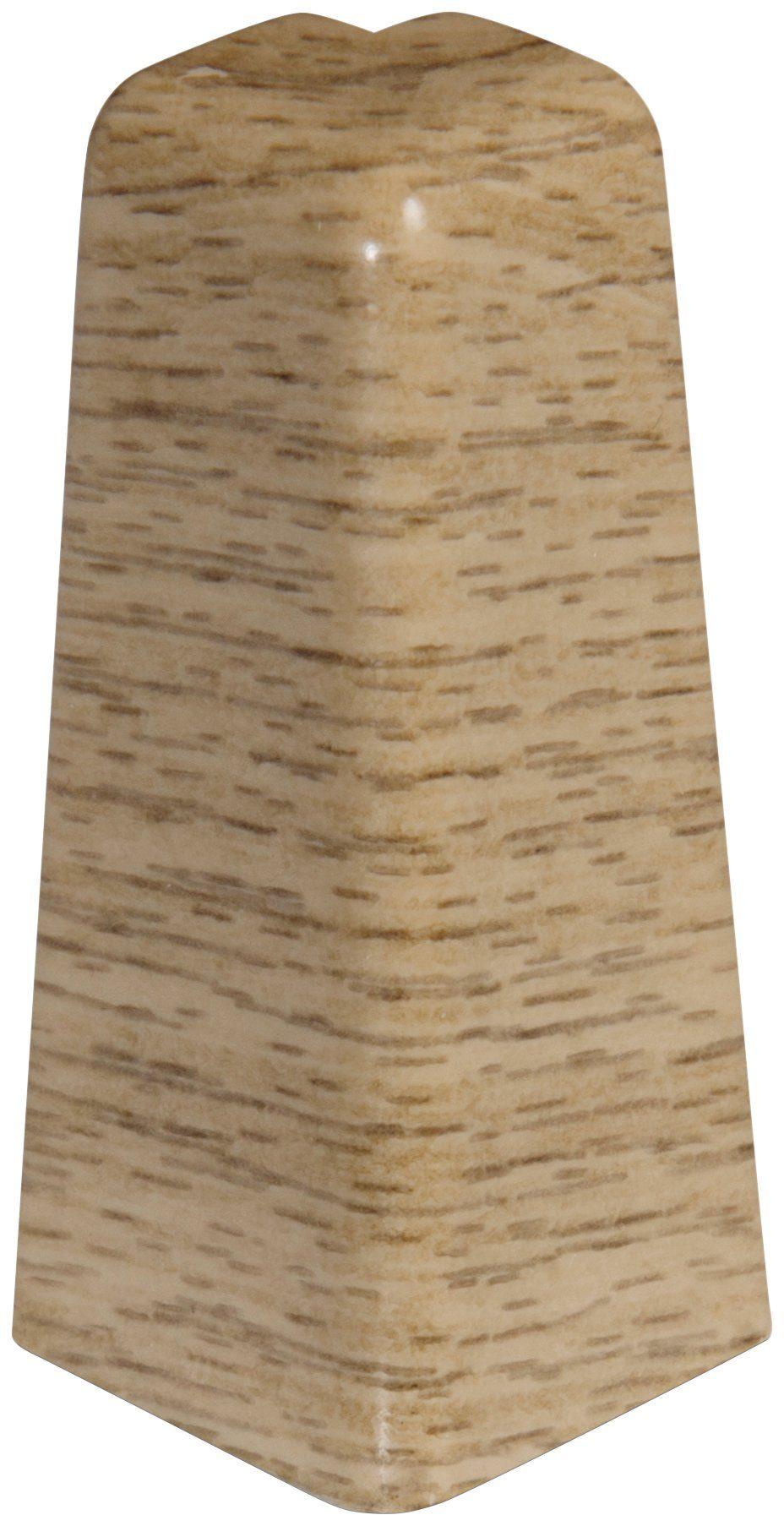 EGGER Außenecken »Eiche natur«, für 6cm EGGER Sockelleiste