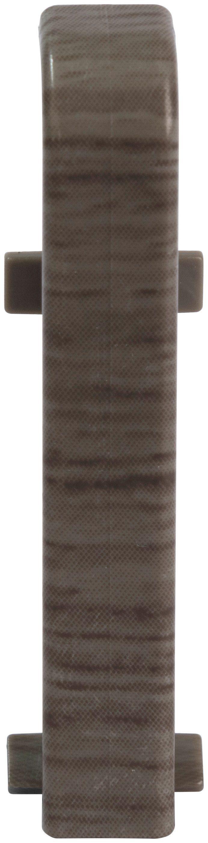 EGGER Zwischenstücke »Eiche anthrazit«, für 6 cm EGGER Sockelleiste