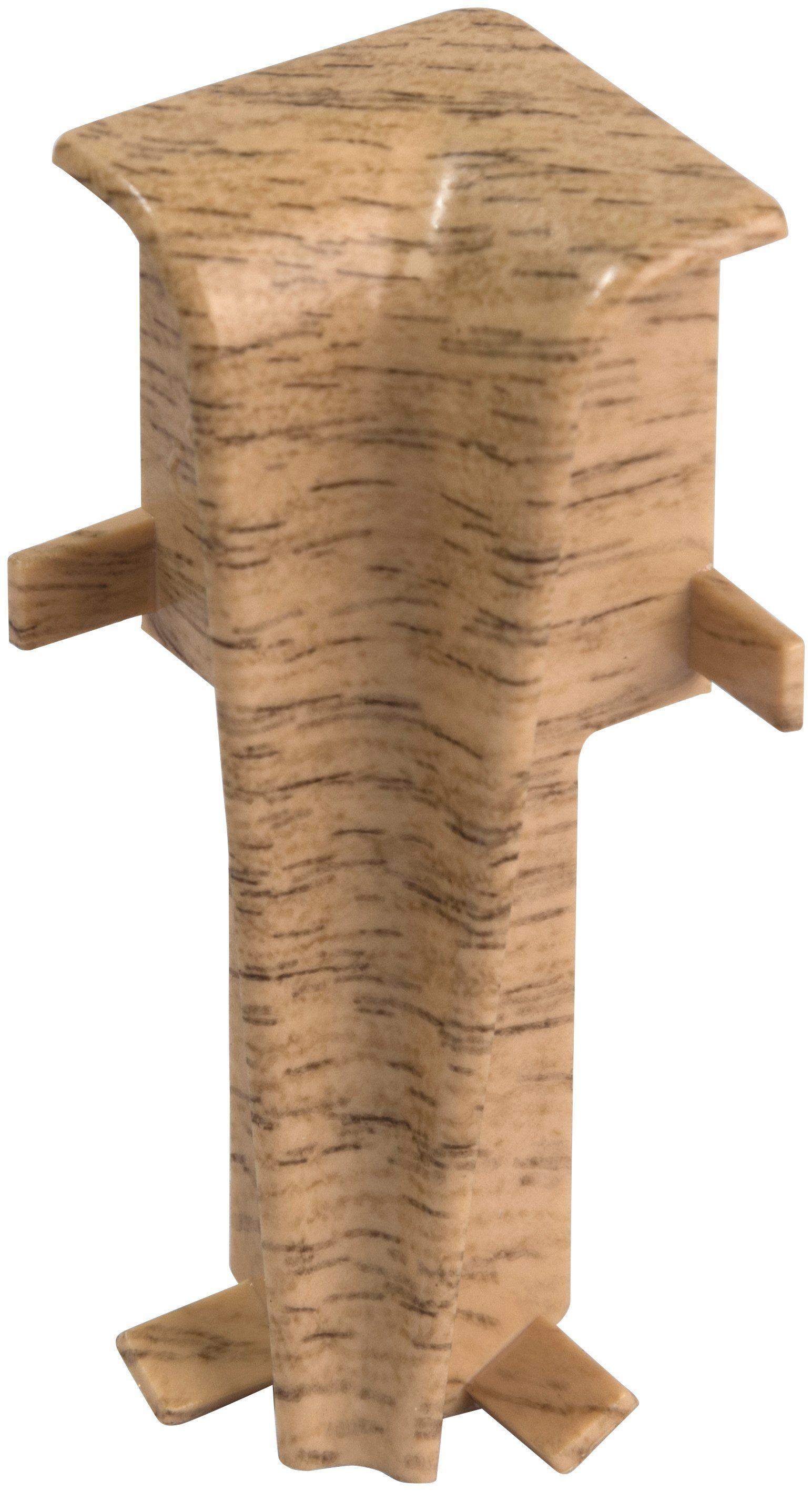 EGGER Innenecken »Eiche rotbraun«, für 6cm EGGER Sockelleiste