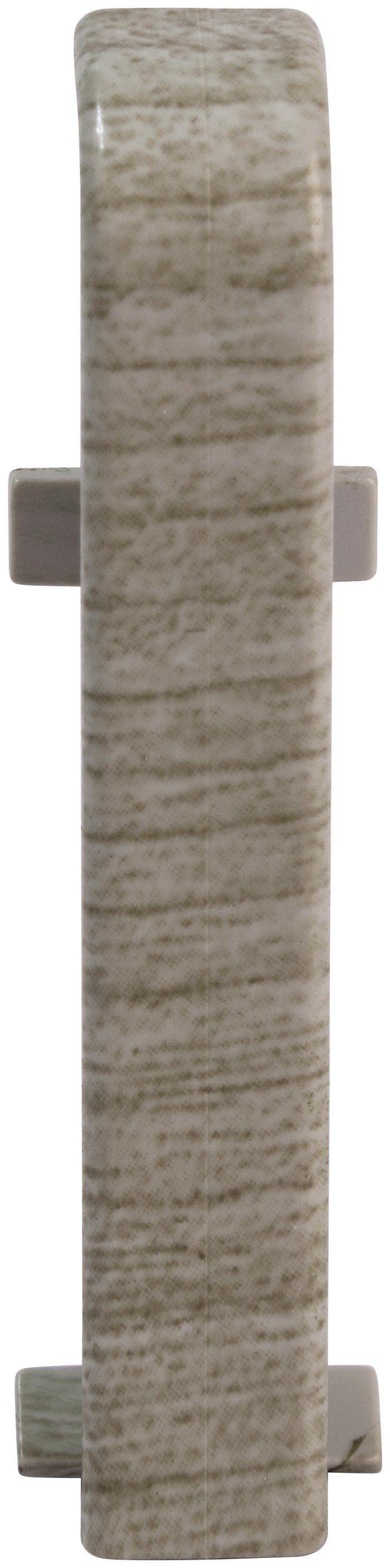 EGGER Zwischenstücke »Eiche mittelgrau«, für 6 cm EGGER Sockelleiste
