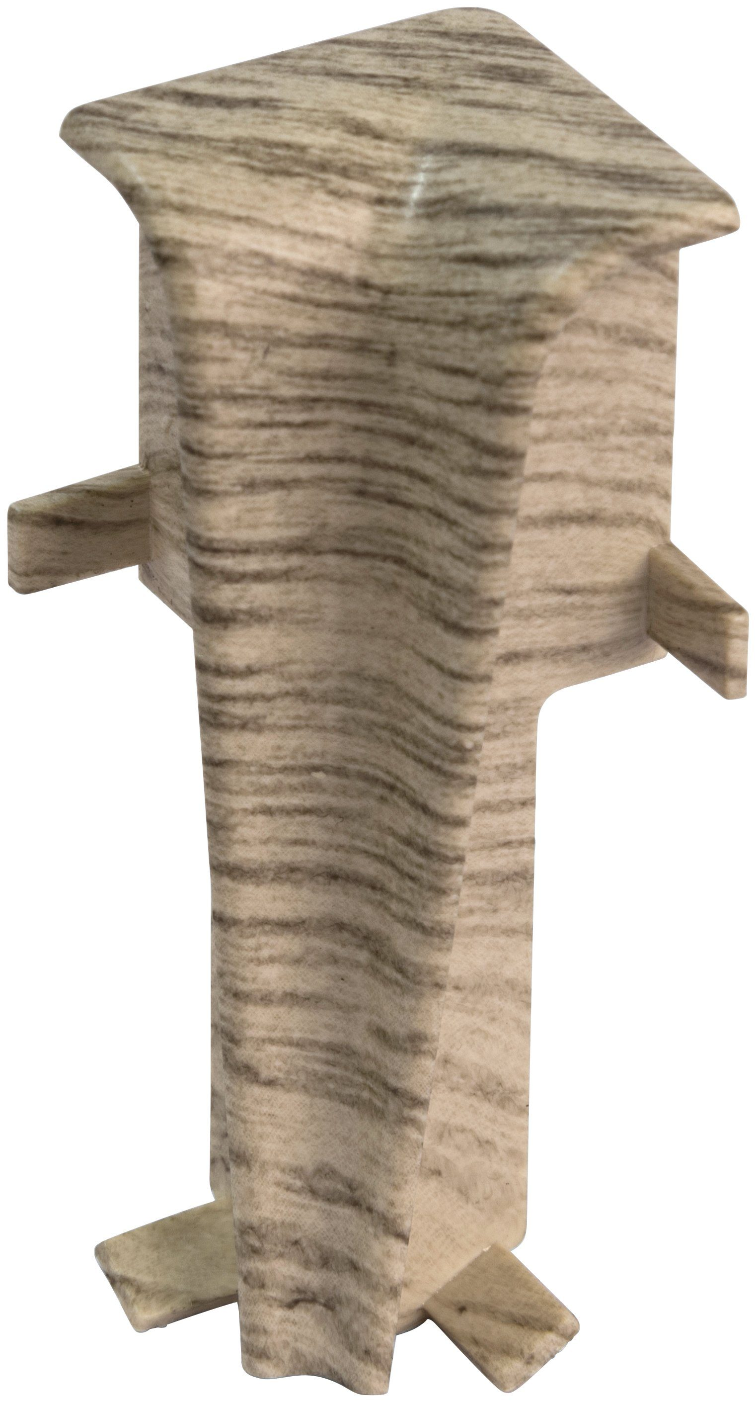 EGGER Innenecken »Eiche hellgrau«, für 6cm EGGER Sockelleiste