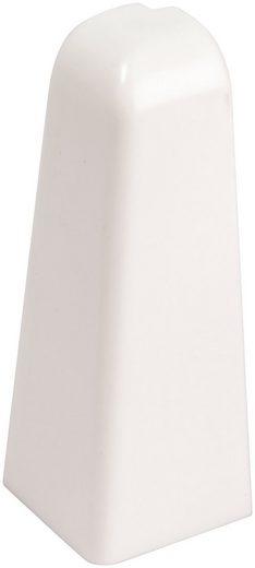 EGGER Außenecke »Universal weiß«, Außeneck-Element für 6 cm Sockelleiste, 2 Stk
