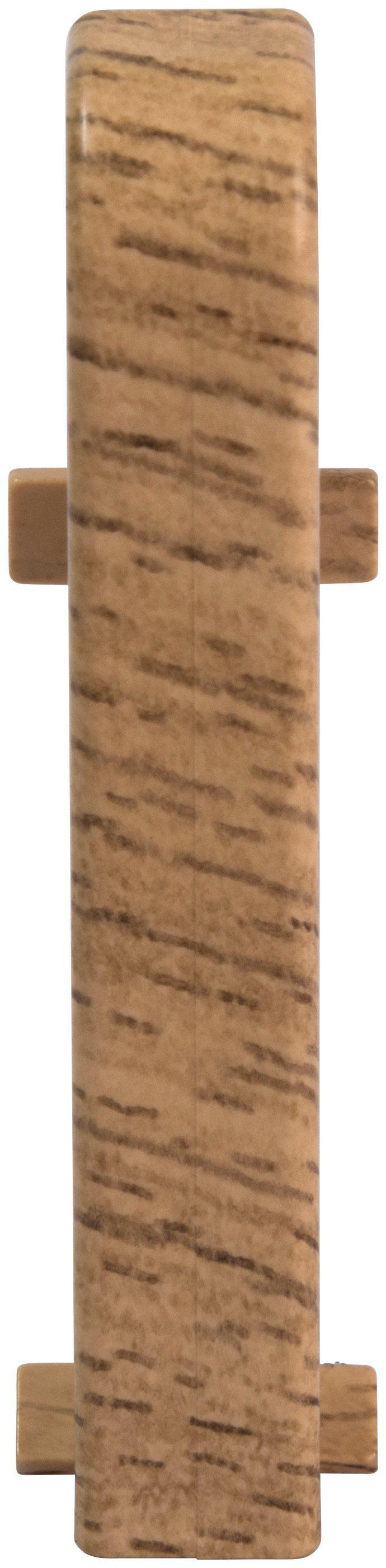 EGGER Zwischenstücke »Eiche rotbraun«, für 6cm EGGER Sockelleiste