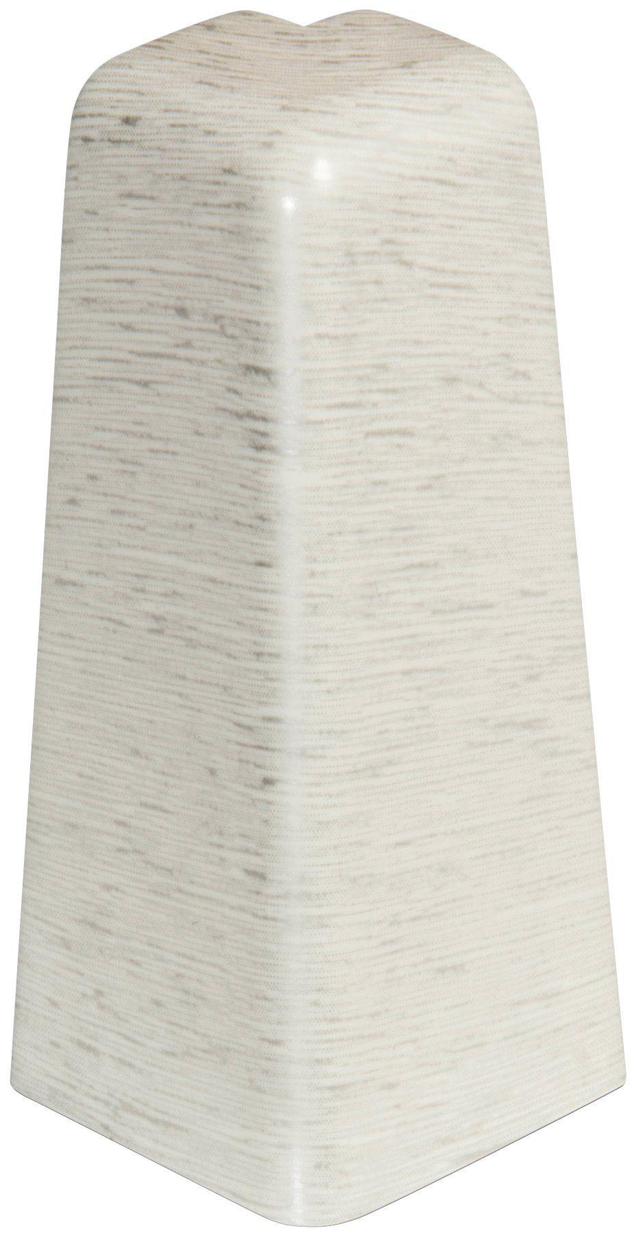 EGGER Außenecken »Eiche graublau«, für 6cm EGGER Sockelleiste