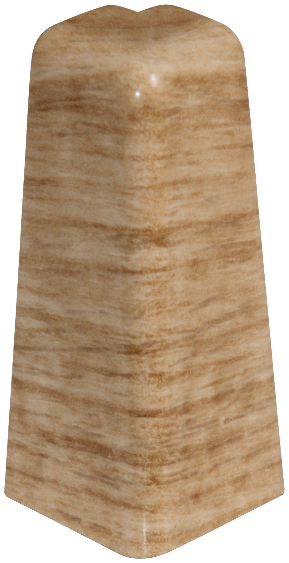 EGGER Außenecken »Eiche honig«, für 6cm EGGER Sockelleiste