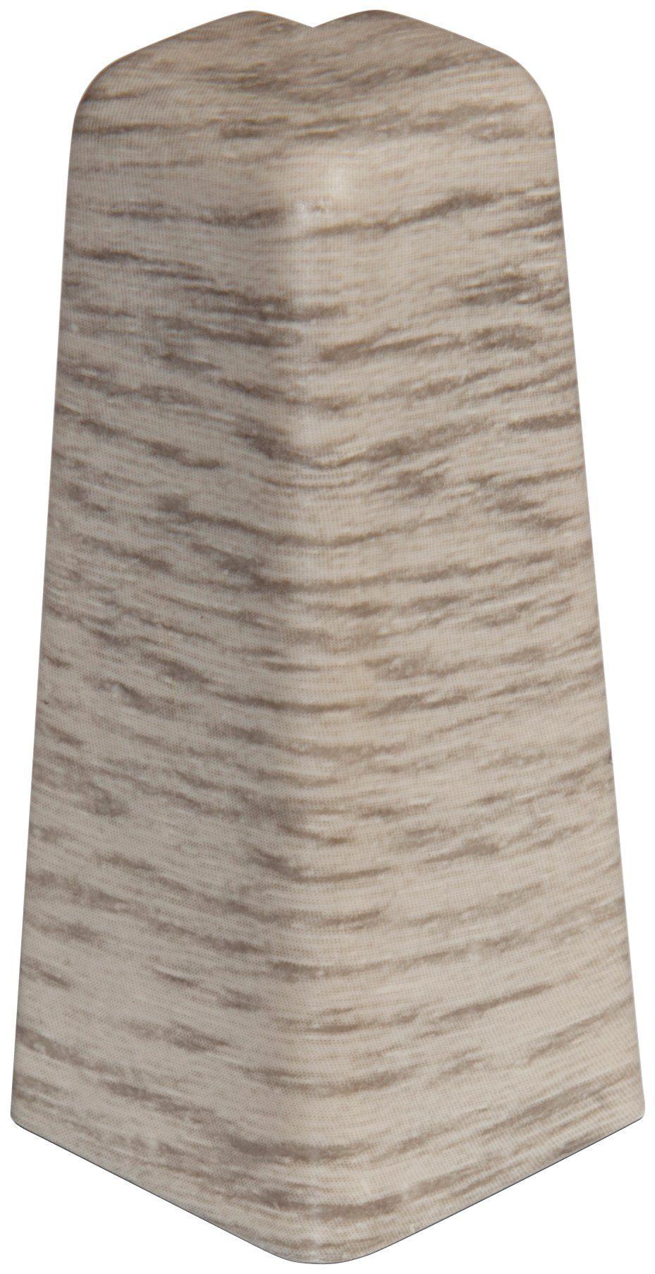 EGGER Außenecken »Eiche hellgrau«, für 6cm EGGER Sockelleiste