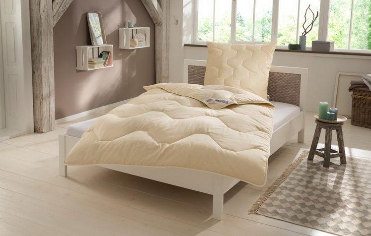 Naturfaserbettdecke, »Baumwolle 60 °C«, my home, normal, Füllung: 100% Baumwolle, vorgekrumpft, Bezug: 100% Baumwolle, (1-tlg), natürlich gut schlafen in reiner Baumwollqualität